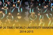 BẢNG XẾP HẠNG CÁC TRƯỜNG ĐẠI HỌC THẾ GIỚI CỦA TIMES 2014-2015