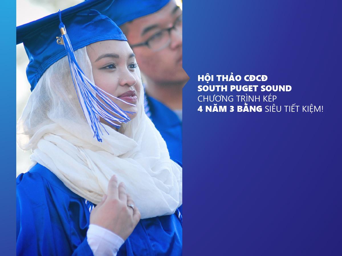 Hội thảo CĐCĐ South Puget Sound: Bước đệm lý tưởng để chuyển tiếp vào các trường đại học danh tiếng của Mỹ