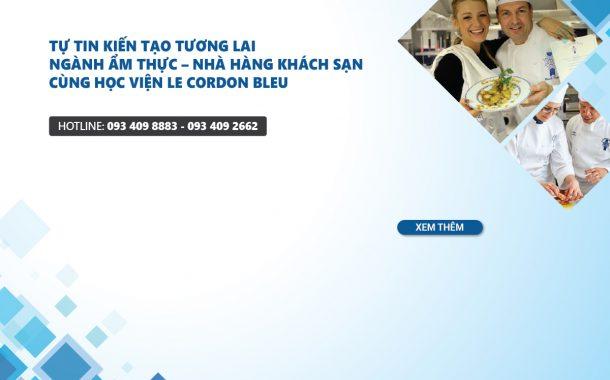 Hội thảo Le Cordon Bleu Pháp và Úc: thực tập chuyên nghiệp đến 12 tháng