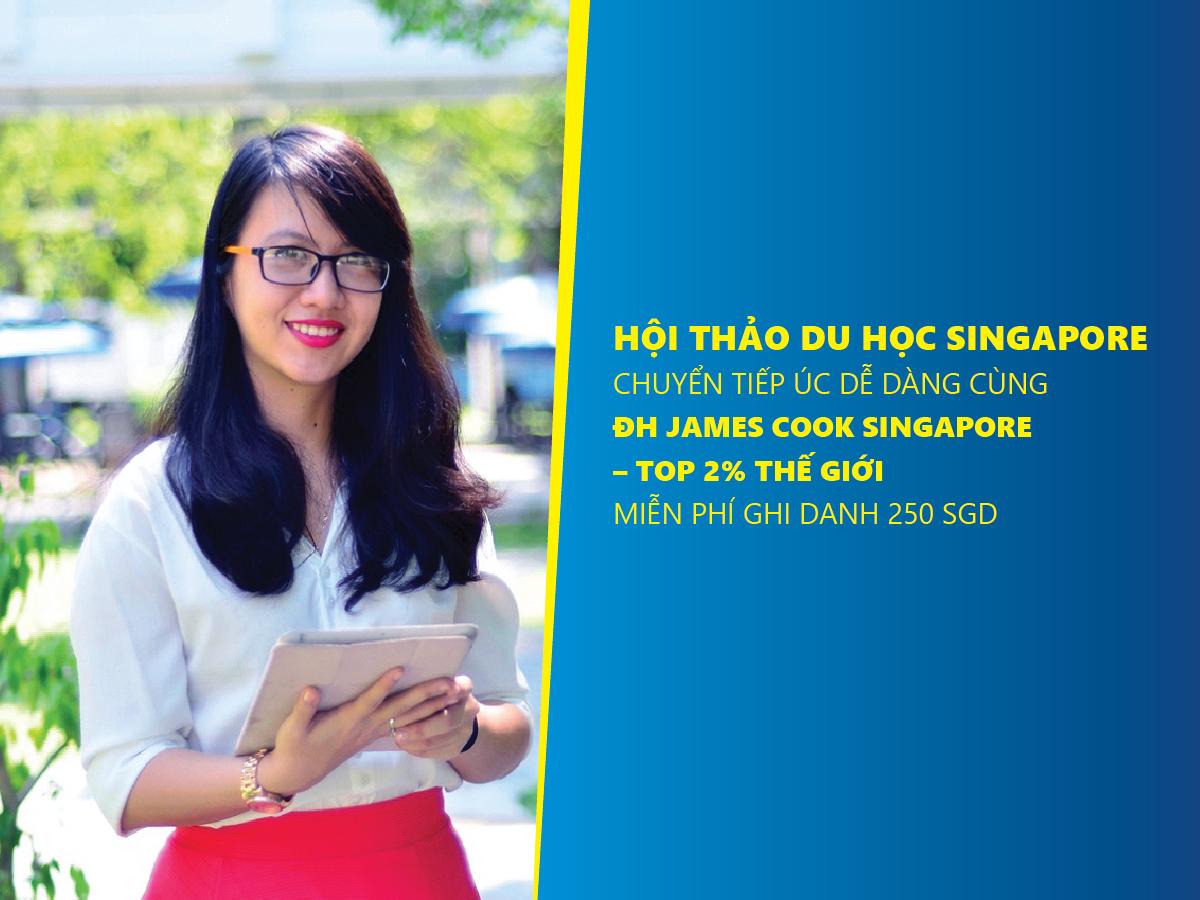 Du học Singapore chuyển tiếp Úc cùng ĐH James Cook Singapore