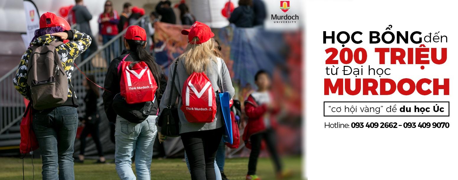 Đa dạng chương trình học bổng du học Úc trị giá đến 200 triệu đồng từ Đại học Murdoch