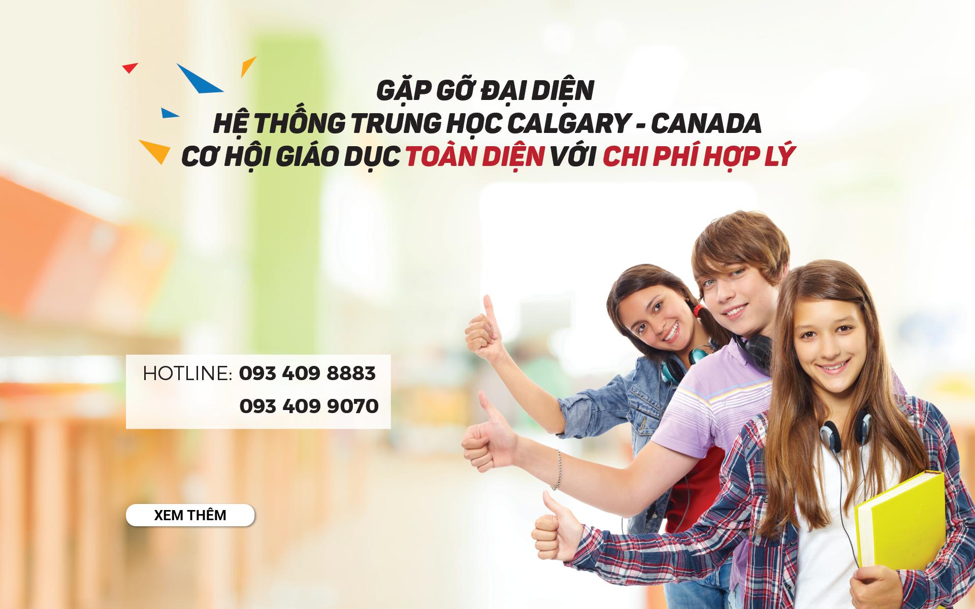 Hội thảo Trung học Calgary: Top đầu Canada về chương trình giáo dục toàn diện cho học viên quốc tế