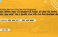Hội thảo Đại học Công lập JCU Singapore – Du học tại 3 quốc gia với học phí không đổi