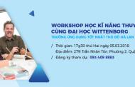Học và thực hành kĩ năng thuyết trình cùng Đại học Wittenborg Hà Lan