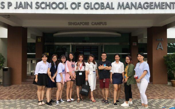 Hội thảo du học Singapore – trường S P Jain tháng 3/2019