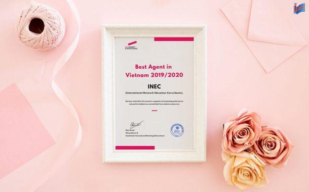 5 năm liên tiếp, INEC được Đại học HAN vinh danh là Best Agent