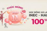 Top 11 tiếp tục hành trình chinh phục học bổng INEC – HAN 100%